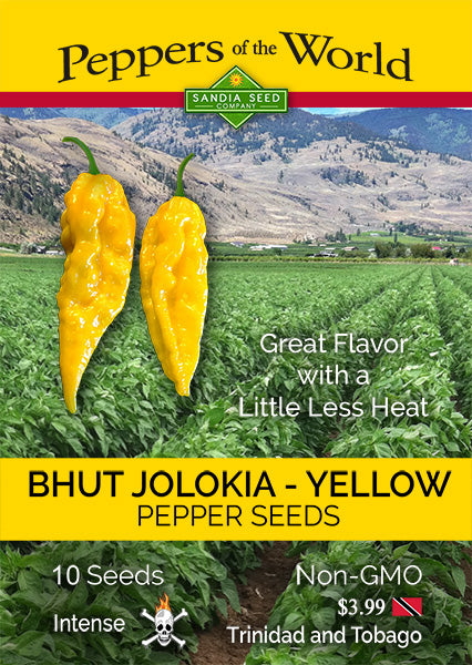 Yellow Ghost Pepper Seeds