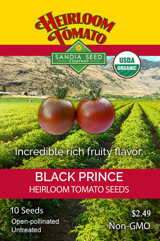 Early Tomato Varieties from SandiaSeed.com: Black Prince