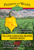 Carolina Reaper Yellow Seeds - Sandia Seed Company