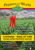 Cayenne - Ring of Fire Pepper Seeds - Sandia Seed Company