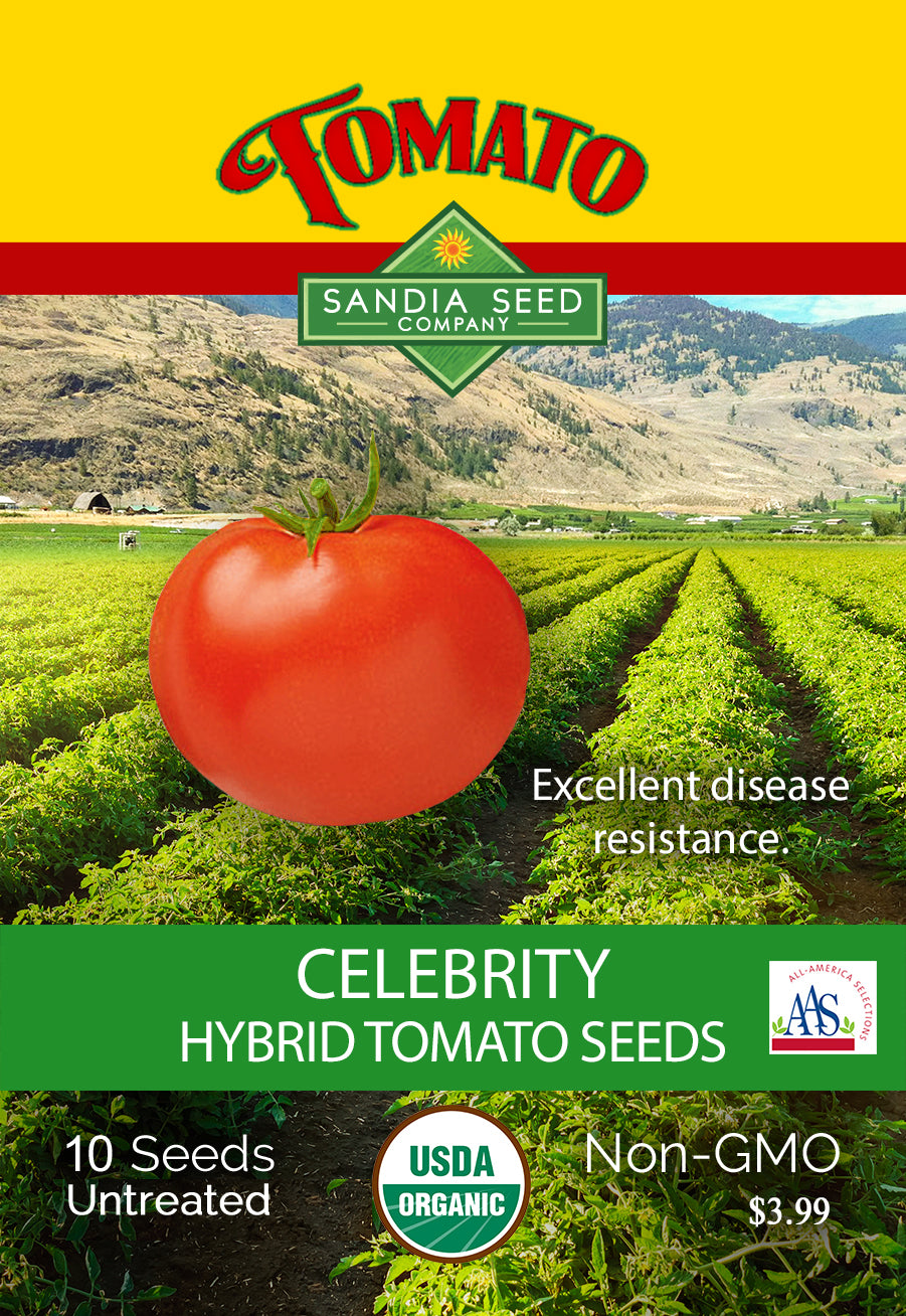 Early Tomato Varieties from SandiaSeed.com - Celebrity Tomato