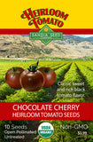 Tomato - Chocolate Cherry Heirloom Seeds ORG - Sandia Seed Company