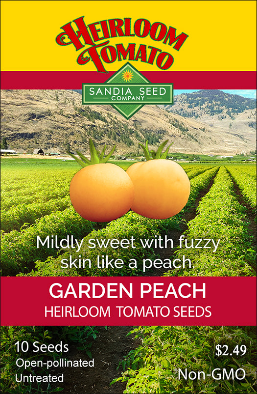 Tomato - Garden Peach Heirloom Seeds