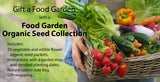 Food Garden - Organic Seed Collection
