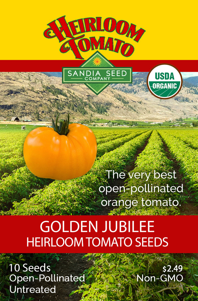 Tomato - Golden Jubilee Seeds ORG - Sandia Seed Company