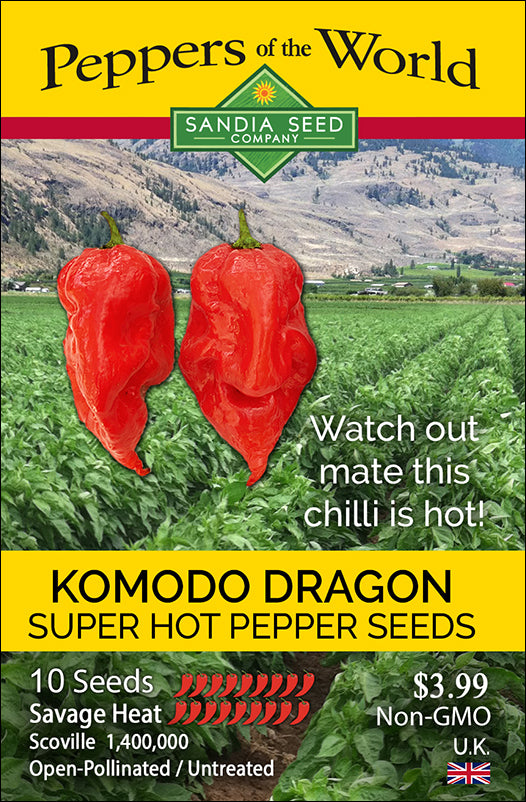 Komodo Dragon Pepper Seeds