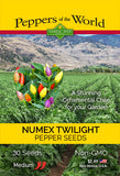NuMex Twilight Pepper Seeds - Sandia Seed Company