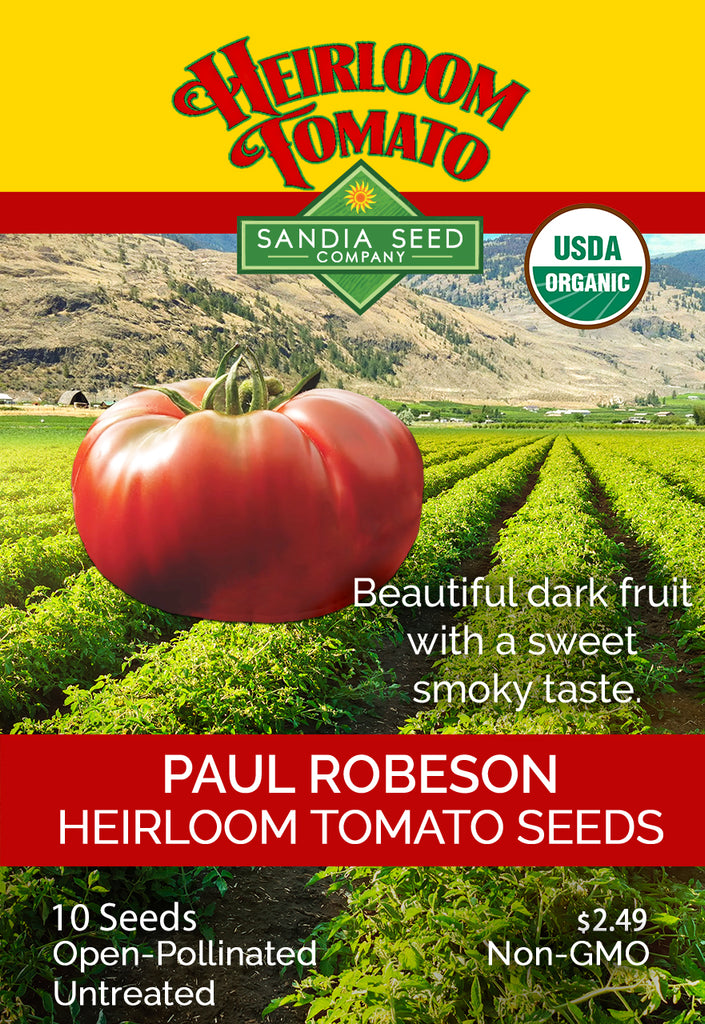 Tomato - Paul Robeson Seeds ORG - Sandia Seed Company