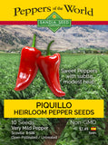 Piquillo Spanish Sweet Pepper Seeds - Sandia Seed Company