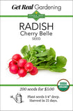 Radish - Cherry Belle Seeds - Organic