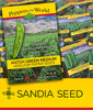 Southwest and Mexico Seed Assortment Wholesale - 24  Pepper Varieties - 144 packets - Sandia Seed Company