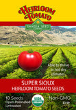 Tomato - Super Sioux Heirloom Seeds ORG - Sandia Seed Company