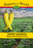 Sweet Banana Pepper Seeds - Sandia Seed Company