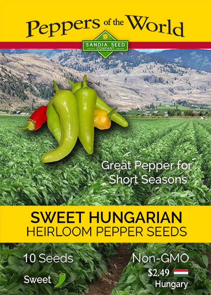 Wax Peppers: Sweet Hungarian Peppers