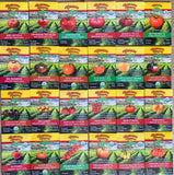 Wholesale Tomato Seed Assortment - 24 Heirlooms and Hybrid Varieties - 144 packets (fills counter-top display)