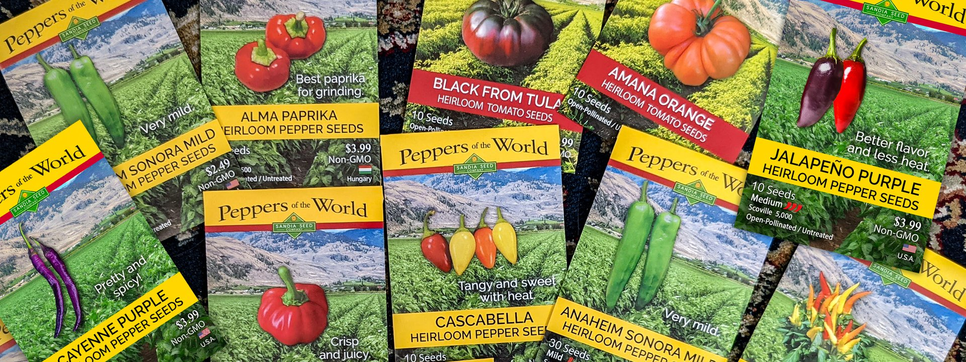 Check out our New 2019 Hot Pepper Seeds