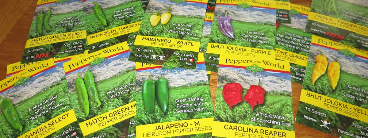 Buy Green Chile Seeds