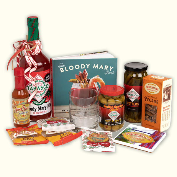 Bloody Mary Gift Basket - Aunt Sally's Pralines
