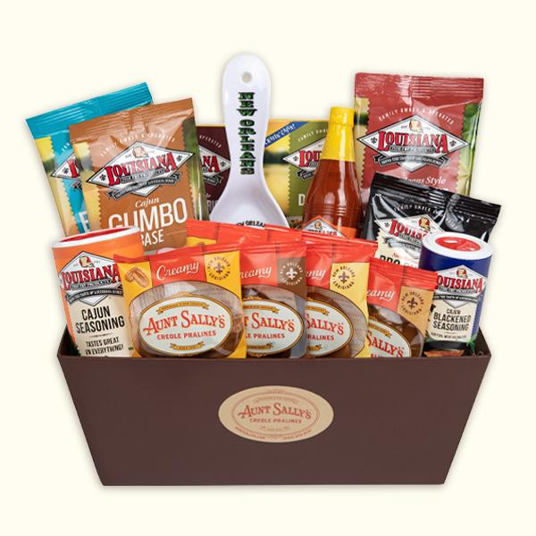Louisiana Cooking Gift Basket - Aunt Sally's