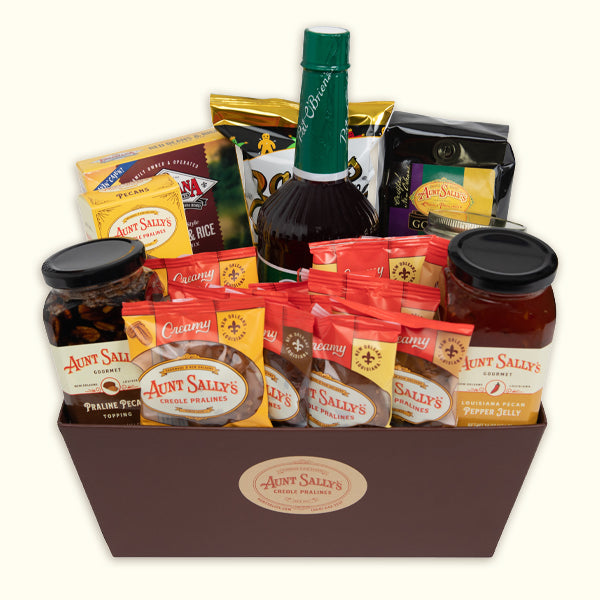 Monsieur Jacques Gift Basket - Aunt Sally's Pralines