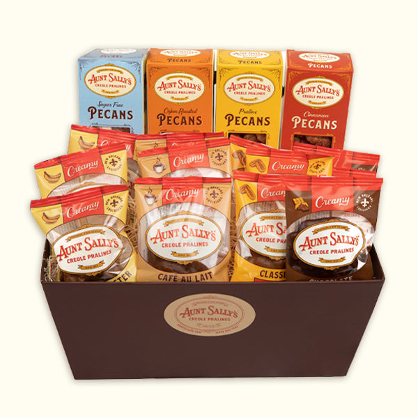 Madeline Gift Basket - Aunt Sally's Pralines