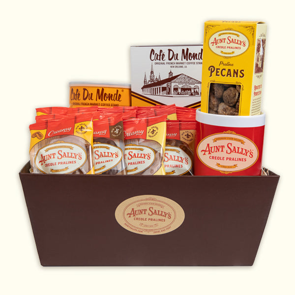 Cousin Du Bois Creamy Assorted Gift Basket - Aunt Sally's Pralines