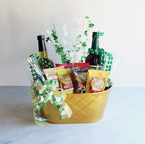 Irish Cocktail Basket