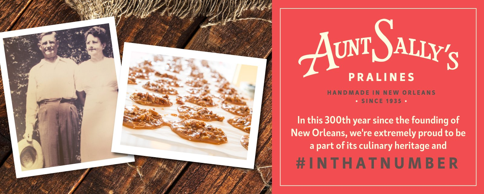 Aunt Sally's Praline of the Month Club