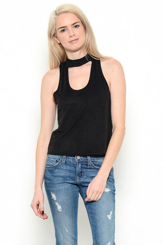 Key Hole Crop Top