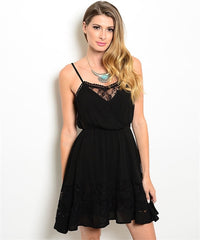 Midnight And Lace Dress