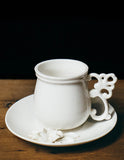 Butterfly Ornate Teacup & Saucer