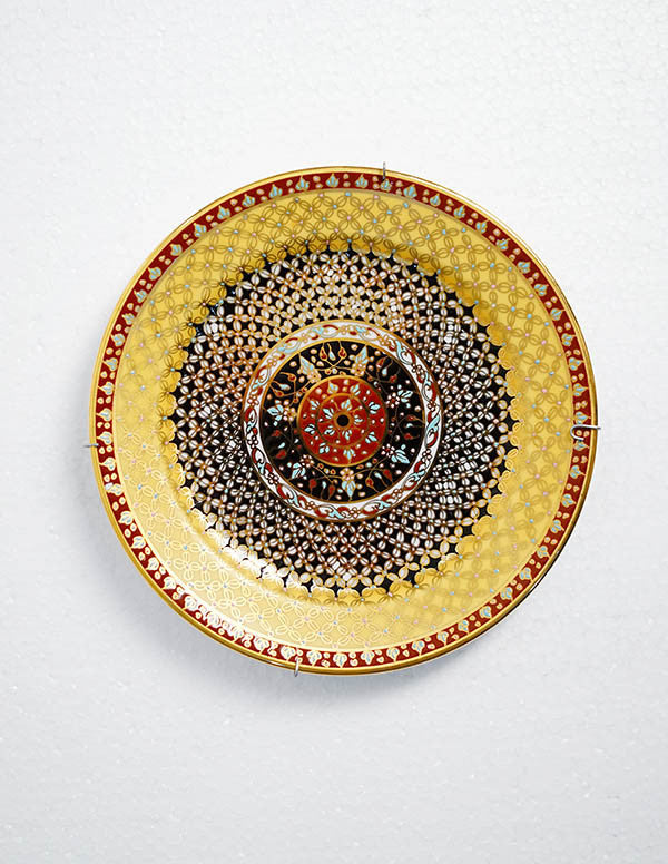 Benjarong Royal Night Plate