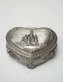 Vintage Russian Brass Trinket Case