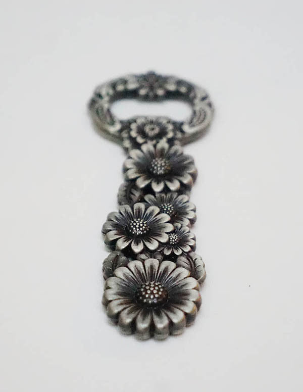 Daisy Brass Bottle Opener