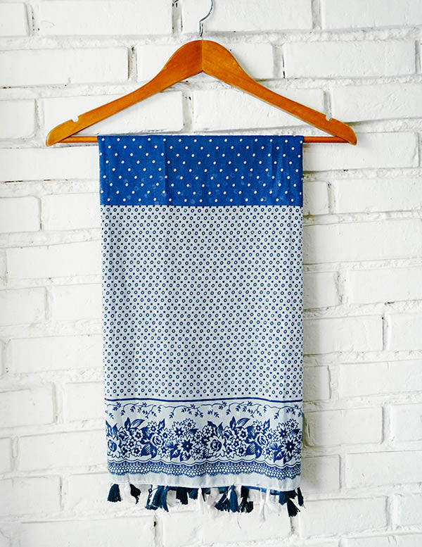 Chefchaouen Scarf