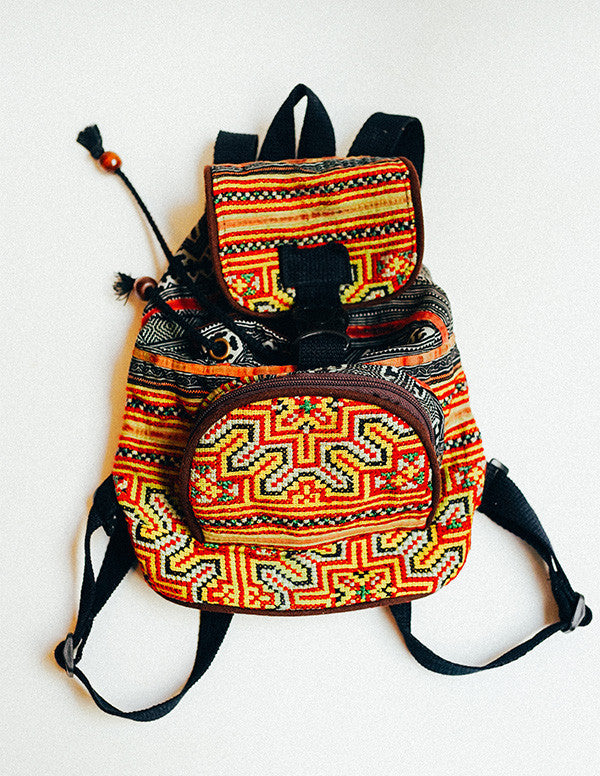 Nomad Embroidery Backpack