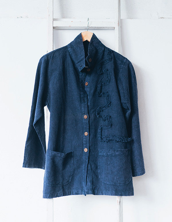 Night Sea Indigo Jacket
