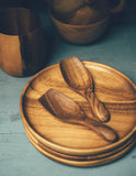 Teakwood Spice Scoop
