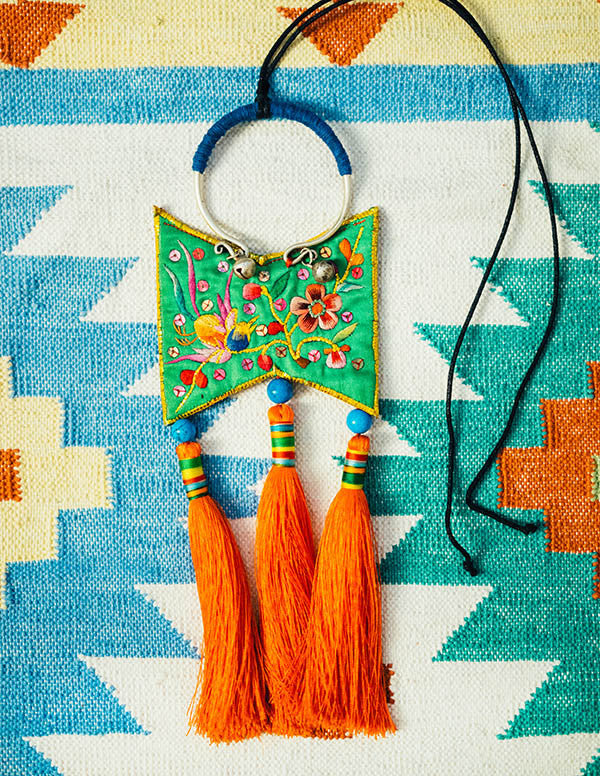Butterfly Tassel Necklace