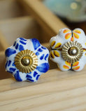 Handpainted Ceramic Door Knobs