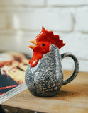 Rooster Animal Farm Milk Pot