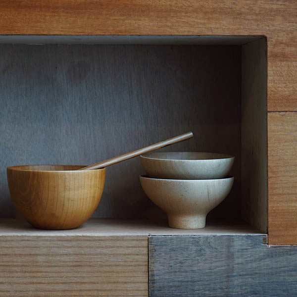Japanese Cypress Wooden Rice Bowl