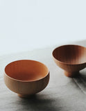Japanese Cypress Wooden Soup Bowl