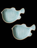 Celadon Blowfish Condiment Plate