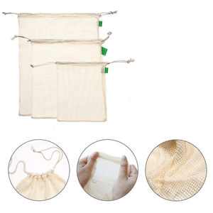 Zero Waste Organic Cotton Produce Bags
