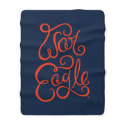 The War Eagle Script | Sherpa Fleece Blanket