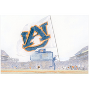 The Touchdown Auburn | Art Print