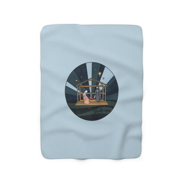 The Nativity | Sherpa Fleece Blanket