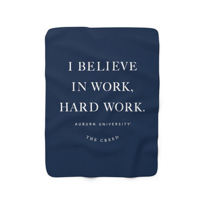 The Creed | Sherpa Fleece Blanket