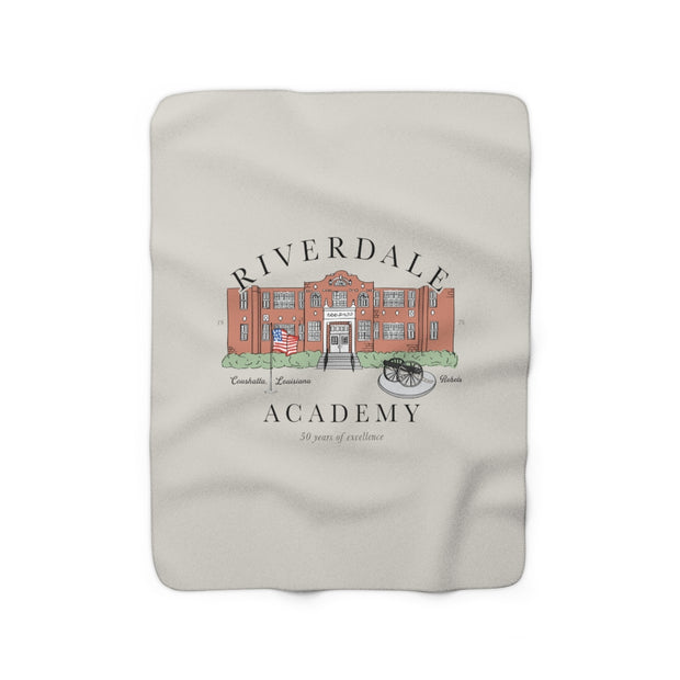 The Riverdale Academy | Sherpa Fleece Blanket